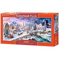 Пазл Касторленд «Новогодний отдых на море» (Castorland B-060184) на 600 элементов