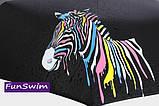Зонт с зеброй меняющей цвет, фото 7