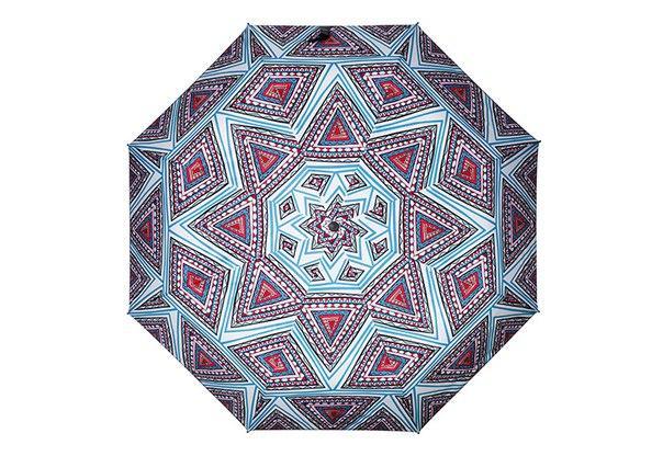 Яркий зонт геометрия