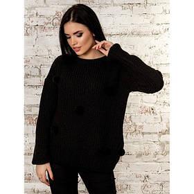Шикарный свитер с бубонами