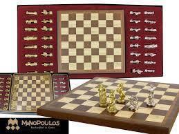 Шахматы из металла - Стрелец