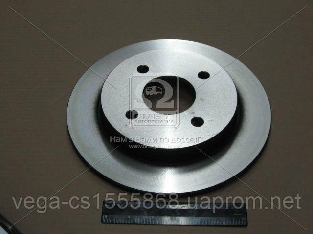Тормозной диск TRW DF1654 на Ford Fiesta / Форд Фиеста