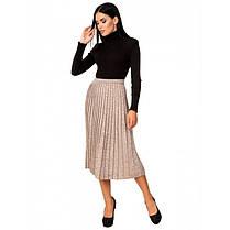 Стильная вязанная юбка, фото 3