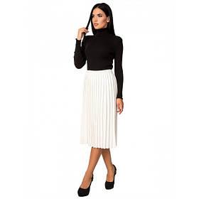 Стильная вязанная юбка