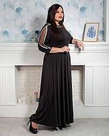 Вечернее женское платье черное