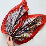 10780-5, павлопосадский платок хлопковый (батистовый) с подрубкой, фото 6