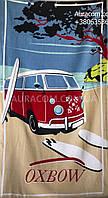 Полотенце пляжное, автобус
