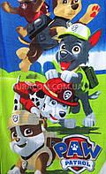 Детское полотенце пляжное, щенячий патруль