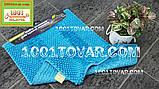 """Килимок з мікрофібри """"Ананас"""" для широкого застосування, 80х50 див., синій колір, фото 3"""
