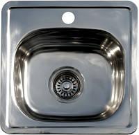 Мойка Platinum 380х380 из нержавеющей стали