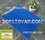 """Килимок з мікрофібри """"Ананас"""" для широкого застосування, 80х50 див., синій колір, фото 2"""