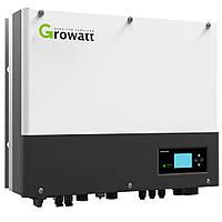 Сетевой гибридный солнечный инвертор Growatt Hybrid SPH5000 (5кВт, 1-фаза, 2 МРРТ)