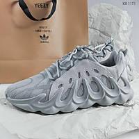 Мужские кроссовки Adidas Yeezy 451 (серые)