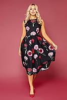 Шикарное платье без рукавов Дара S, M, L, XL
