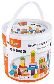 Набор кубиков 50 шт. Viga Toys 59695