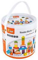 Набор кубиков 50 шт. Viga Toys 59695, фото 1