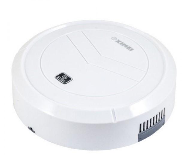 Робот пылесос на аккумуляторе Smart Robot XIMEI White