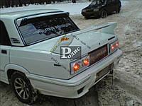 """Спойлер ВАЗ 2101, 2103, 2106 """"Спорт"""" (стеклопластик) """"Orticar"""" с дополнительным стоп-сигналом (под покраску)"""