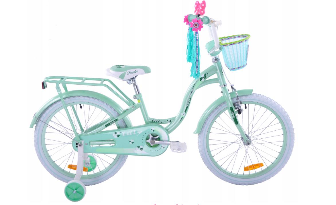 """Детский велосипед LILLY  20 """" mint"""