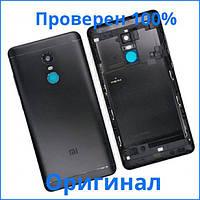 Задняя крышка корпуса Xiaomi Redmi Note 4X черная, Задня кришка корпусу Xiaomi Redmi Note 4X чорна