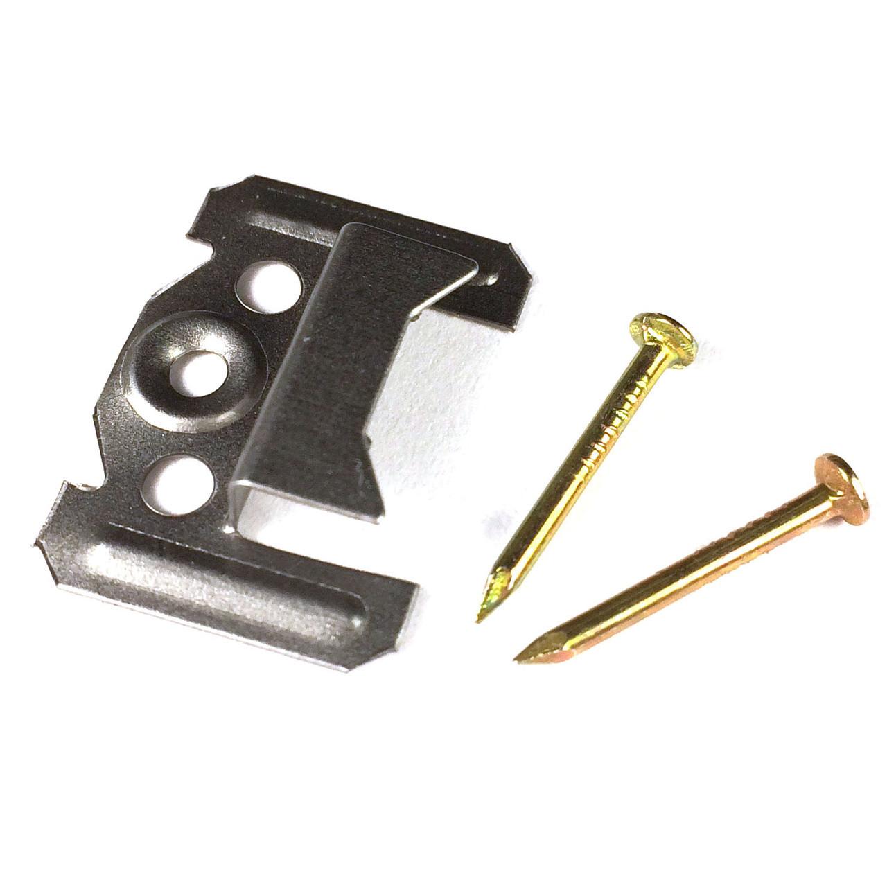 Кляймер (кляммер) для крепления вагонки 1.0 мм., 100 шт.