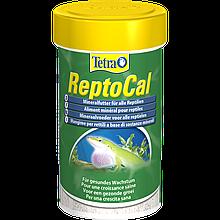 Кормовая добавка кальций в виде порошка для всех рептилий Рептокаль Tetra ReptoCal 100 мл (60 г)