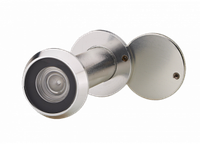 Глазок дверной MVM DV50-90/16 хром матовый