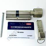 Циліндр ABUS M12R 75мм 35-40 (30-10-35) ключ-тумблер, фото 6