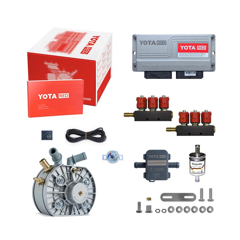Комплект YOTA RED 6ц. (редуктор Silver, форс.Valtek) +Filter+Gls