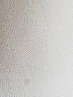 Обои виниловые на флизелине метровые Marburg Kingdom 31537 однотонные белые мелкая полоска под ткань