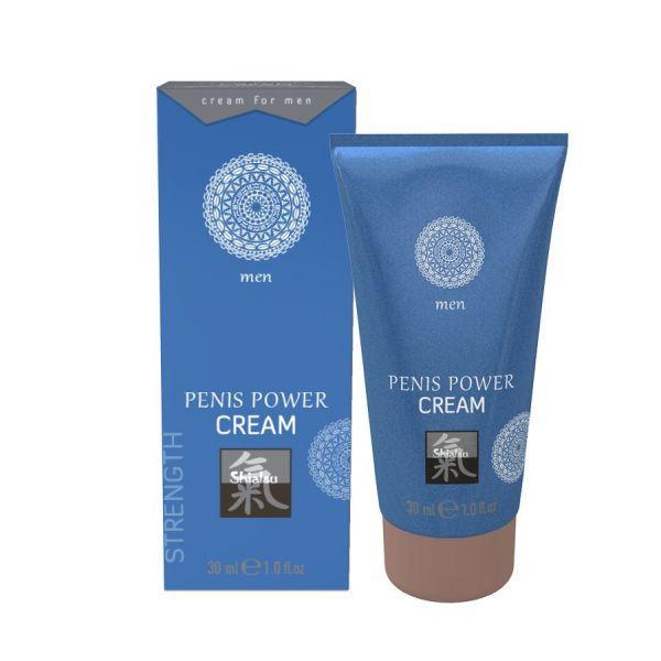 Стимулирующий крем для мужчин Shiatsu Power Cream, 30 мл