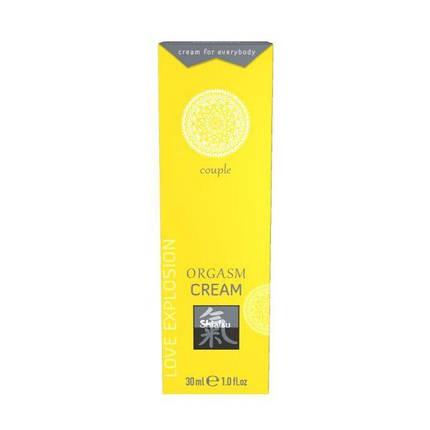 Возбуждающий крем для двоих Shiatsu Orgasm Cream, 30 мл, фото 2