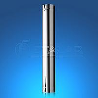 Труба дымоходная из нержавеющей стали ECO MONO STALAR  (одностенная) 201, 1 м, нерж, 0,5 мм ДЫМОХОДЫ АДС 100
