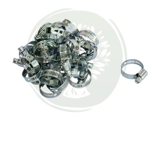 Хомут червячный APRO (форсуночный) 7-11 mm (1шт) нержавейка
