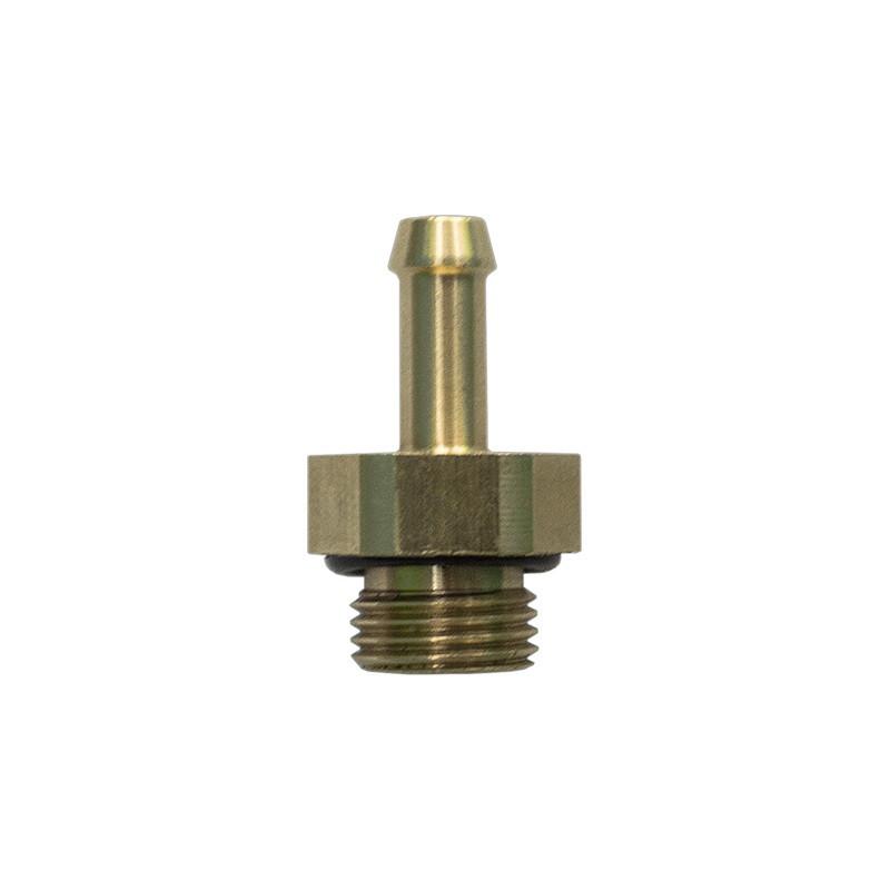 Штуцер калибровочный к форсункам Valtek Ø=5мм, короткий, с уплотнительной резинкой Ø сопла 1,5mm