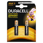 """Елементи живлення """"Duracell"""" LR-03 (ААA) 2шт. (батарейки)"""