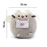 Мягкая игрушка Pusheen cat 2Life с письмом Gray (n-67), фото 2