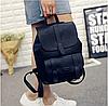 Женский стильный рюкзак-сумка Toposhine Black