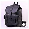 Жіночий стильний рюкзак-сумка Toposhine, Чорний