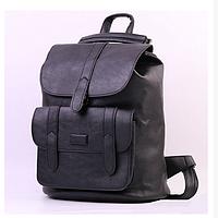 Жіночий стильний рюкзак-сумка Toposhine, Чорний, фото 1