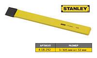 """Зубило універсальне """"STANLEY""""; l= 305 мм, жало w= 32 мм"""