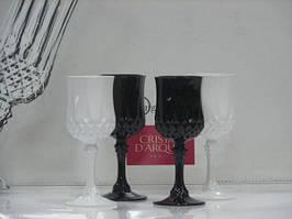 Набор рюмок 60 мл Longchamp Folies black and white Luminarc D6582