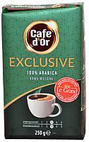 Кофе молотый Сafe D'Or Exclusive 250г.