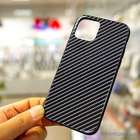Чохол TPU + Glass Twist iPhone 11 Pro {5.8} Black