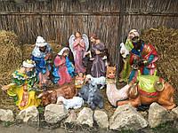 Різдвяний Вертеп  (висота 90см)