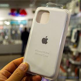 Накладка Apple Silicone Case iPhone 11 Pro {5.8} White [копія]