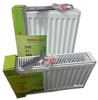 Стальной радиатор Terra Teknik бок. 22 тип 300/2600 мм высота