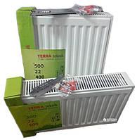 Стальной радиатор Terra Teknik бок. 22 тип 300/3000 мм высота