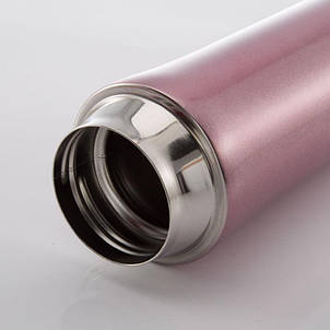 Термос Starbucks - тамблер термокружка з безпечної кришкою (Старбакс) 450 мл рожевий, фото 2
