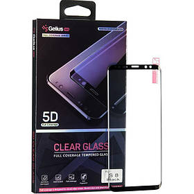 Защитное стекло Gelius Pro 5D Clear Glass для Samsung A505 (A50) черный